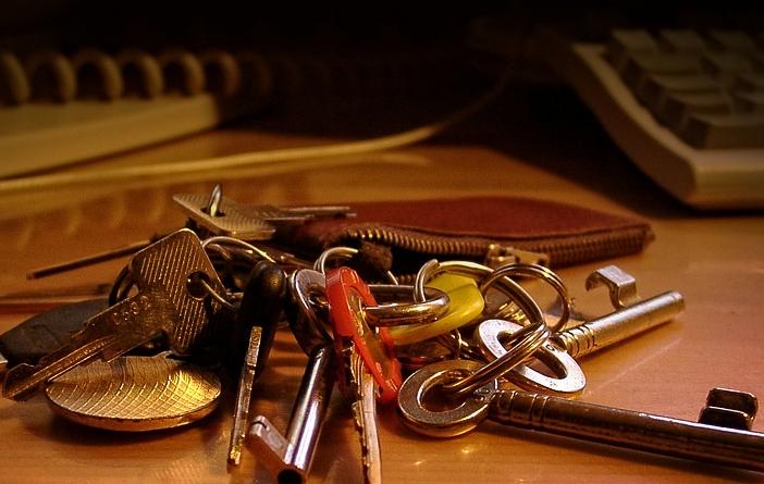 Schlüssel mäppchen